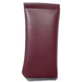 Brown Imitation Leather Clic Clac case