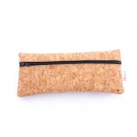 Étuis en liège pochettes zippées
