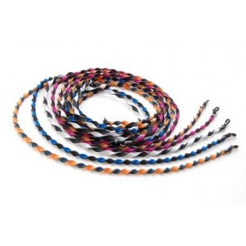 Cordons Bicolores Torsadés en polyester