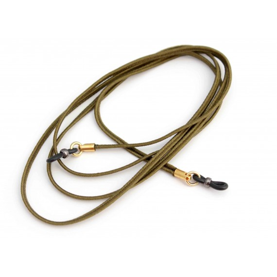 Khaki Silk cord