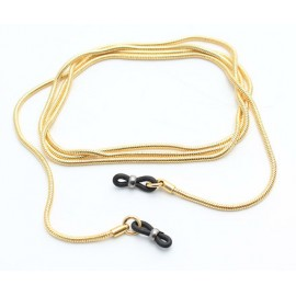 Round snake metal chains