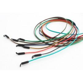 Flat polished coton cords