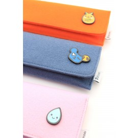 Felt kids cases with magnetic clasp