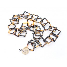 ACETATE CHAIN WITH FANTASY LINKS