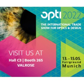 WE WILL PARTICIPATE AT OPTI MUNICH 2019 EXHIBITION